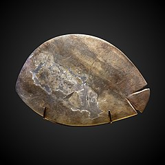 Fish-shaped kohol palette-E 32283