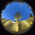 Fisheye lenses-HDR Technique-Qur'an Gate-Shiraz-Iran عکاسی با لنز فیش آی- تکنیک اچ دی آر کمرا- دروازه قرآن شیراز 04- نورپردازی در شب (cropped).jpg