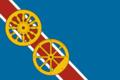 Flag of Bogandinskoe (Tyumen oblast).png