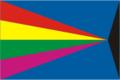 Flag of Chelno-Vershinsky rayon (Samara oblast).png