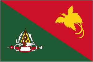 Flags of country subdivisions (Oceania) - Image: Flag of East Sepik