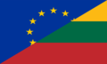 Flag of Europe and Lithuania.png