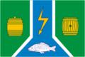 Flag of Kadui rayon (Vologda oblast).png