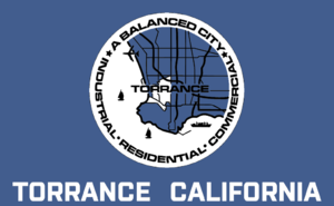 Torrance Police Department - Image: Flag of Torrance, California