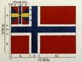 Flagga, Utställning Brödrafolkens väl, år 2005 - Livrustkammaren - 13931.tif