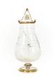 Flaska med propp, av bergkristall - Skoklosters slott - 92127.tif