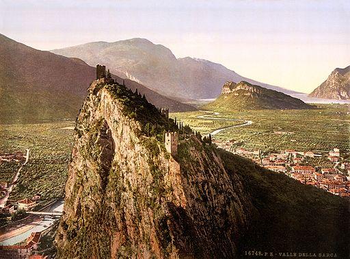 Flickr - …trialsanderrors - Valley of the Sarca near Arco, Trento, Italy, ca. 1899