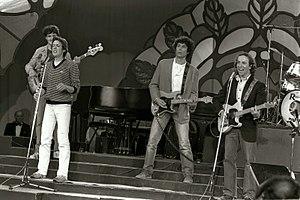 Danny Sanderson - Danny Sanderson (far right) performing with Doda