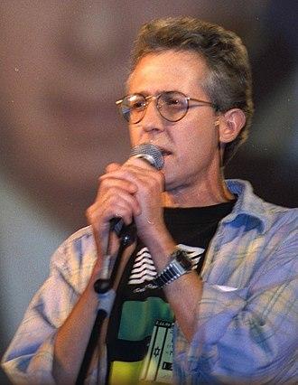 Gidi Gov - Gidi Gov performing at the memorial service held for PM Yitzhak Rabin. 11/02/1996