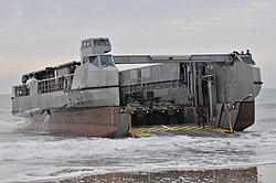 Flickr - Official U.S. Navy Imagery - A French landing craft comes ashore during the amphibious assault phase of Bold Alligator 2012..jpg