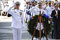 Flickr - Official U.S. Navy Imagery - The CNO salutes a wreath at the U.S. Navy Memorial placed there in honor of the Battle of Midway Commemoration Day ceremony..jpg