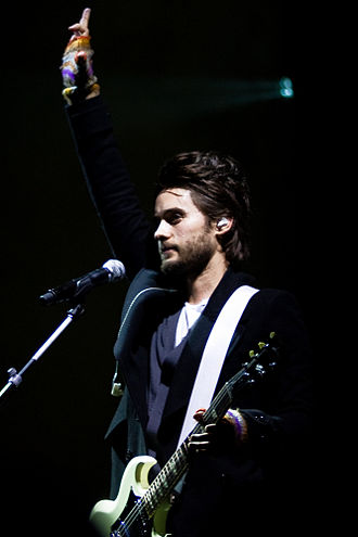 Jared Leto - Leto performing in Oakland, California in December 2009