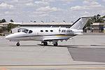 Flight Options (VH-SQY) Cessna 510 Citation Mustang taxiing at Wagga Wagga Airport.jpg