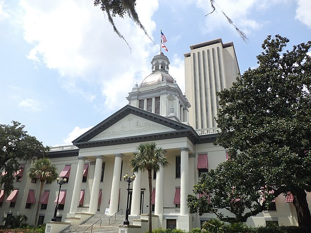 Florida's Historic Capitol and Florida State Capitol 2