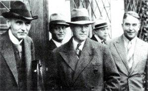 Otfrid Foerster - Otfrid Foerster, Herbert Olivecrona and Wilhelm Tönnis