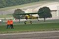 Fokker D.VIII Lt See Gotthard Sachsenberg Landing 07 Dawn Patrol NMUSAF 26Sept09 (14599289232).jpg