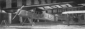 Fokker F.II - the third F.II