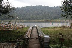 Foot bridge to Khecheolpalri Lake.jpg