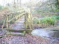 Footbridge by West Clandon - geograph.org.uk - 1086507.jpg