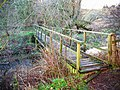 Footbridge on the Papana Water - geograph.org.uk - 337021.jpg