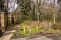 Footpath leading to Hadley Wood Road from Cockfosters end - geograph.org.uk - 740054.jpg