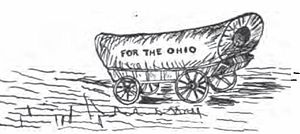 Ohio Company of Associates - Pioneer wagon