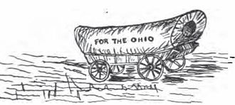 Manasseh Cutler (representative) - Manasseh Cutler prepared this wagon for the first pioneers to the Ohio Country