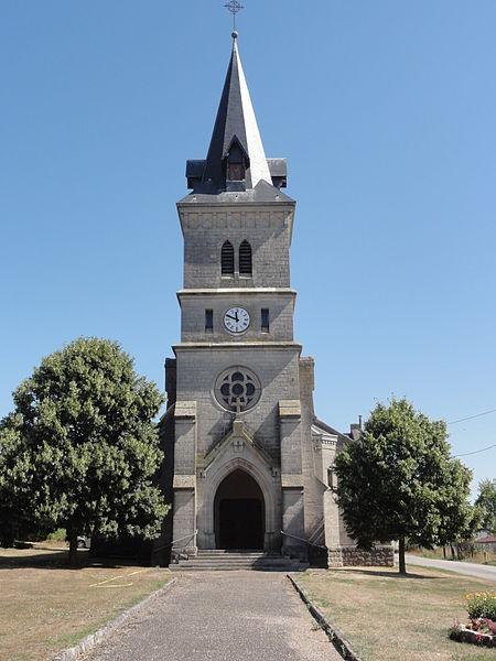 Forges-sur-Meuse (Meuse) église