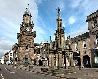Forres - The high street of Forres, 2004
