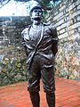 Fort san domingo statue.JPG