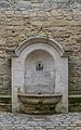 Fountain at rue Gaston Chauvet in Uzes.jpg