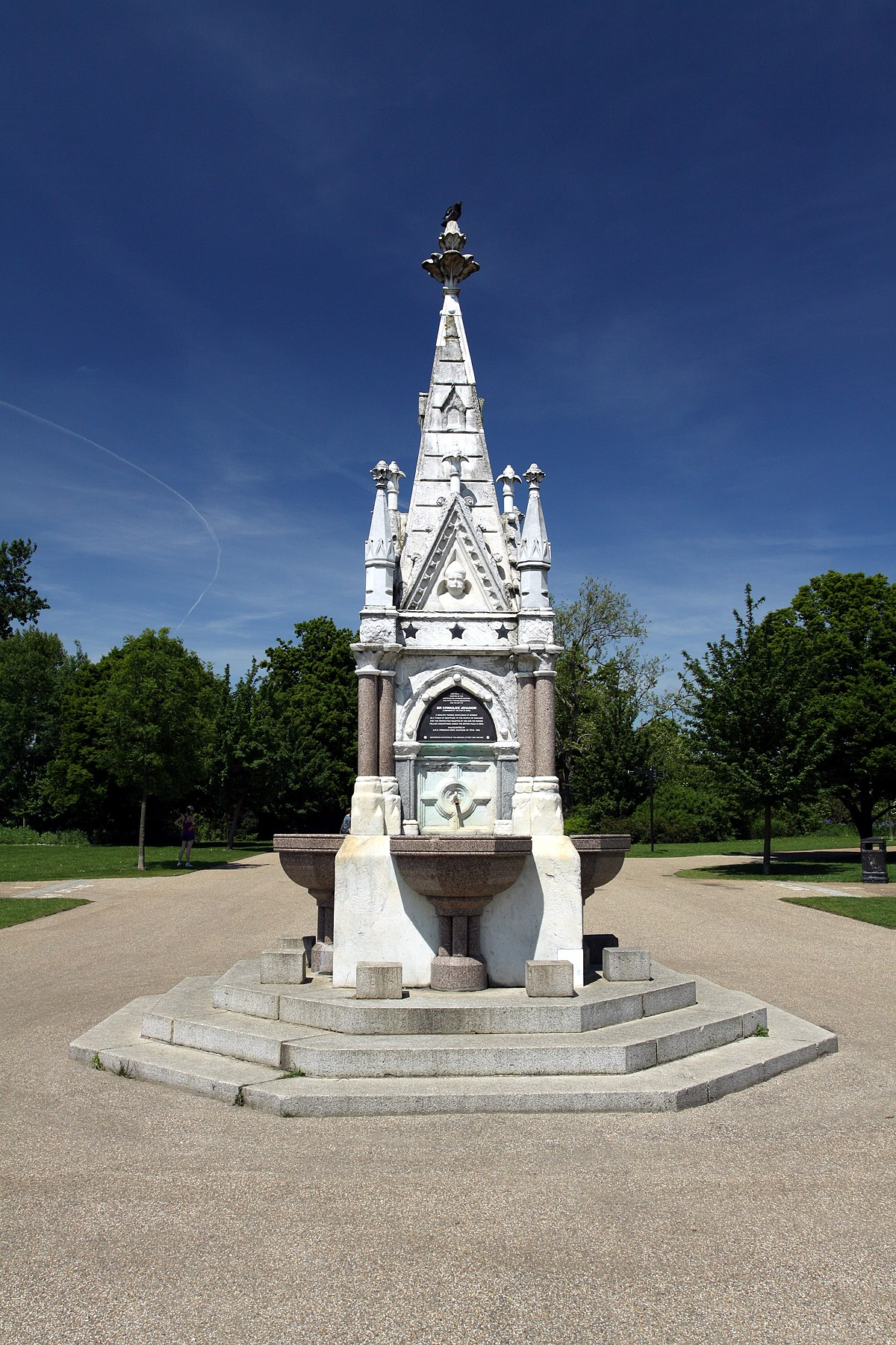 Readymoney Drinking Fountain - Wikipedia