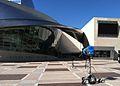 Fox News Setup Nearby Nascar Hall of Fame at DNC (7907984328).jpg