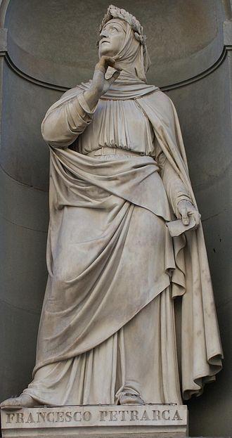 Accademia della Crusca - Francesco Petrarca was endorsed as a model for Italian style by the Accademia della Crusca.