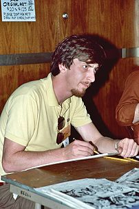 Photo of Frank Miller at 1982 San Diego Comic Con