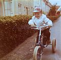 Frank Schulenburg, as a child on a tricycle.jpg