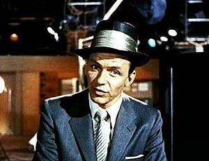 Screenshot of Frank Sinatra from the trailer f...
