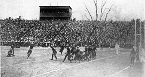 Frank Steketee - Steketee kicks the winning field goal in a 3–0 win over Illinois in October 1921.