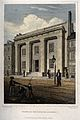 Franklin Institute, Philadelphia. Coloured engraving by Fenn Wellcome V0014365.jpg