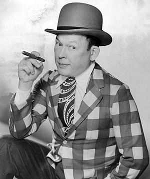Texaco Star Theatre - Photo of Fred Allen for the show's premiere, 1940.