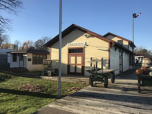 National Register of Historic Places listings in Polk County, Wisconsin - Image: Frederic Depot