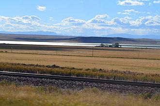 Fairfield, Montana - Freezeout Lake