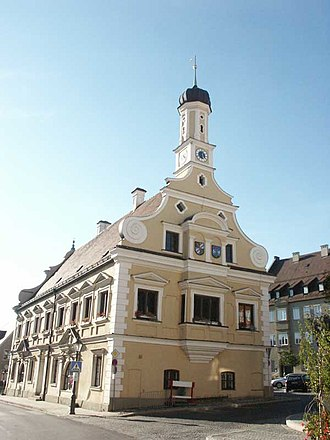 Friedberg, Bavaria - Town hall