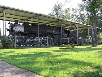 Amory, Mississippi - Frisco 1529 in Frisco Park