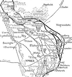 action of 22 october 1917 wikipedia 106th Infantry Division front line 22 october 6 november