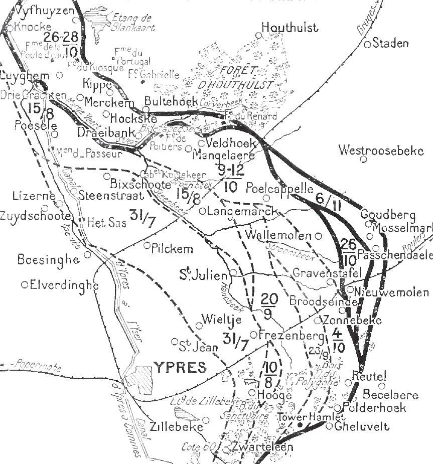Front line 22 October - 6 November