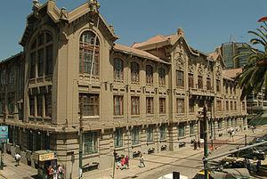 Pontifical Catholic University of Valparaíso - Casa Central, the primary building of PUCV