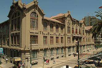 Pontifical Catholic University of Valparaíso - Casa Central, the primary building of PUCV