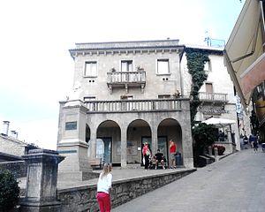 Murata (San Marino) - Piazza Giuseppe Garibaldi