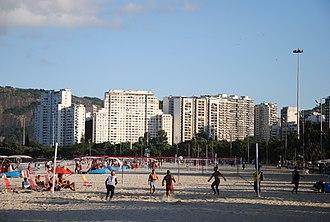 Footvolley - Footvolley in Rio de Janeiro.